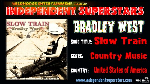 """Click on Independent Superstar """"Bradley West"""" to download his latest Hit Song free from"""