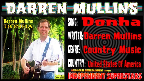 Right click and save as to download this new song by Darren Mullins