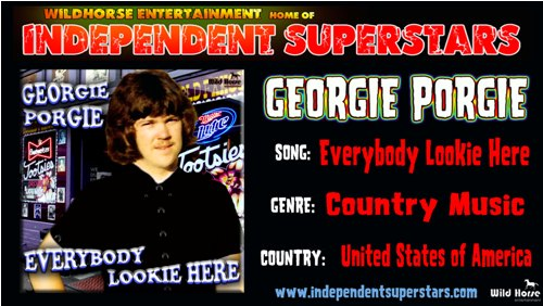 """Click on Independent Superstar """"Georgie Porgie"""" to download his latest Hit Song free from"""