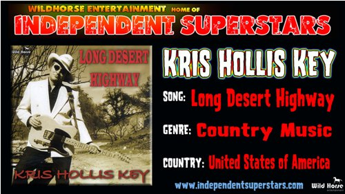 """Click on Independent Superstar """"Kris Hollis Key"""" to download his latest Hit Song free from"""