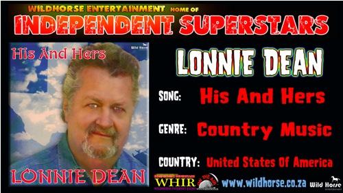 Click 2 download Lonnie Deans new hit