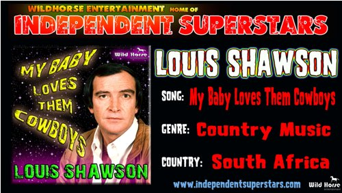 """Click on Independent Superstar """"Louis Shawson"""" to download his latest Hit Song free from"""