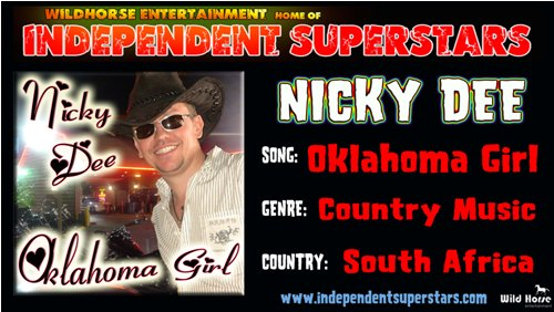 """Click on Independent Superstar """"Nicky Dee"""" to download his latest Hit Song free from"""