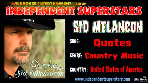 """Click on Independent Superstar """"Sid Meloncon"""" to download his latest Hit Song free from"""