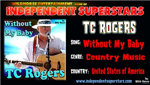 """Click on Independent Superstar """"TC Rogers"""" to download his latest Hit Song free from"""
