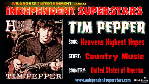Click to download Tim Peppers latest hit