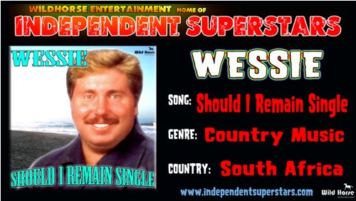 """Click on Independent Superstar """"Wessie"""" to download his latest Hit Song free from"""
