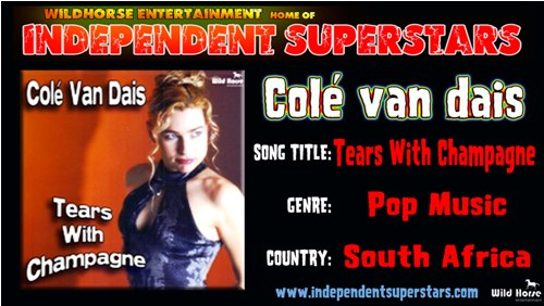 """Click on Independent Superstar """"Cole van dais"""" to download his latest Hit Song free from"""